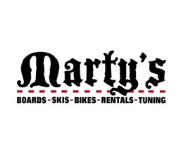 Marty`s coupon codes