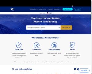XE Money Transfer coupon codes