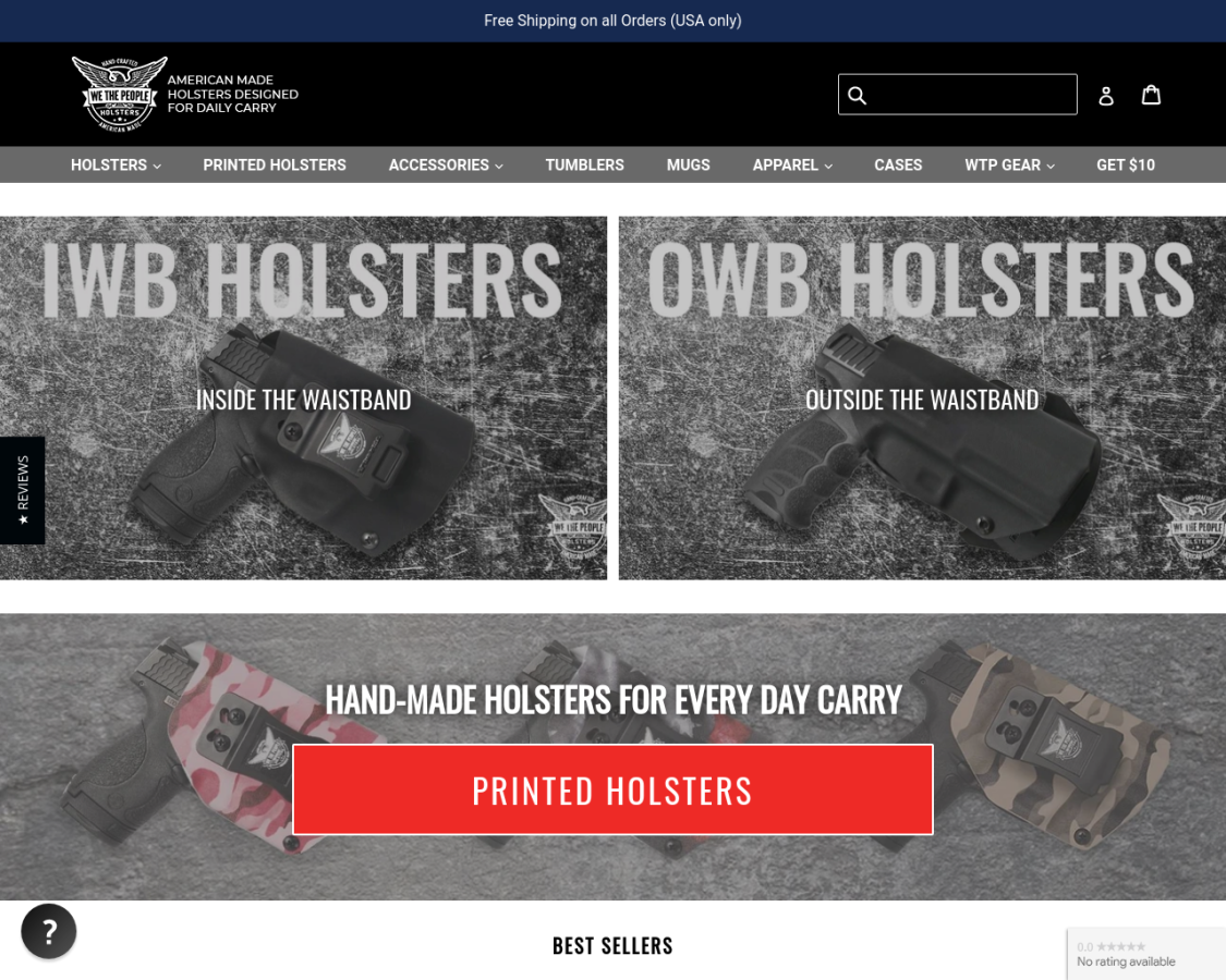 wethepeopleholsters coupon codes