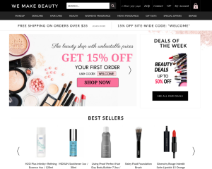 wemakebeauty coupon codes
