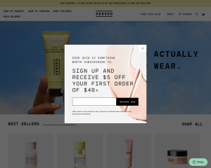 versedskin coupon codes
