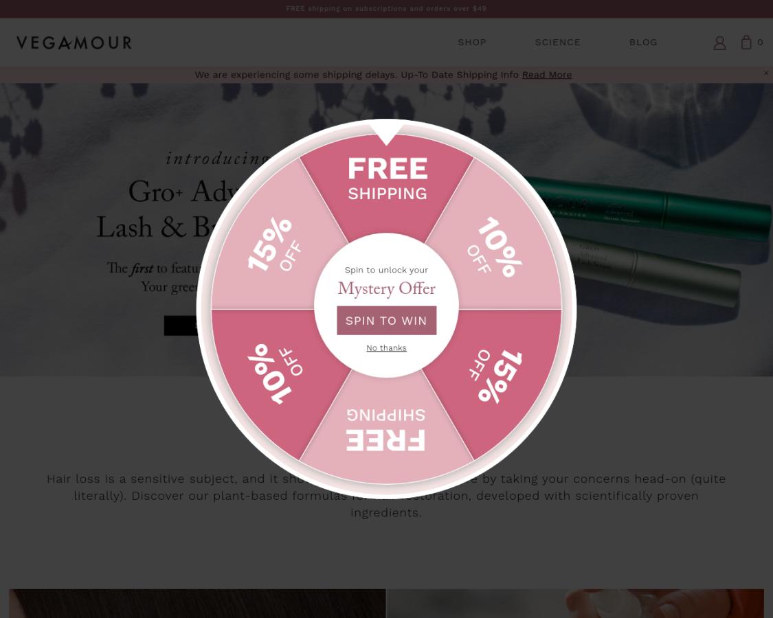 Vegamour coupon codes