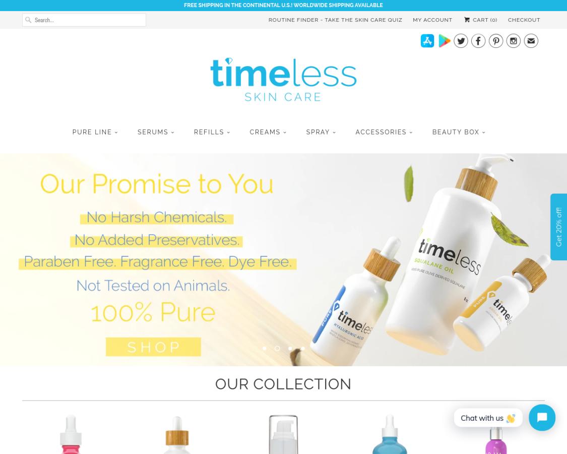 timelessha coupon codes