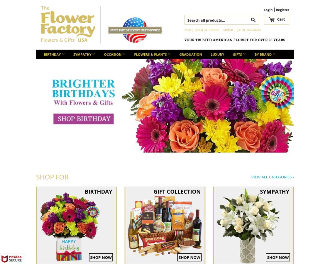 theflowerfactoryusa coupon codes
