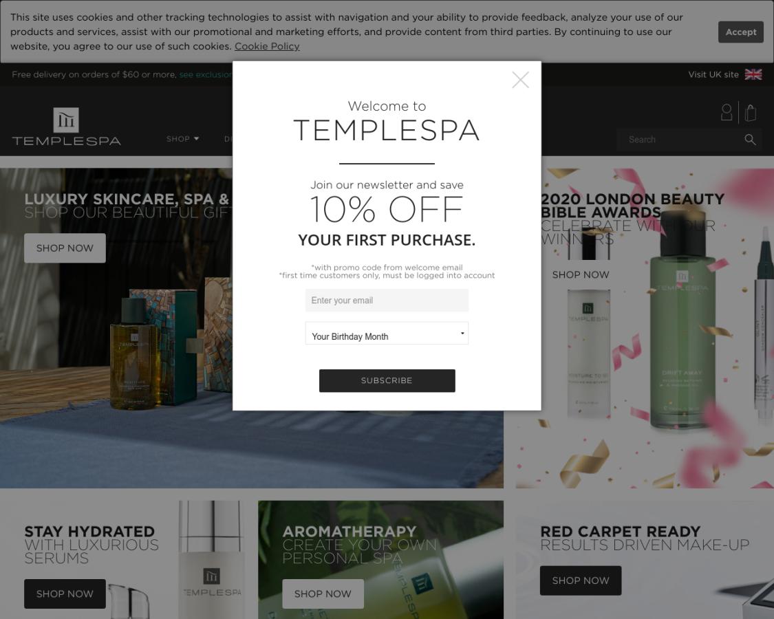 templespa-usa coupon codes