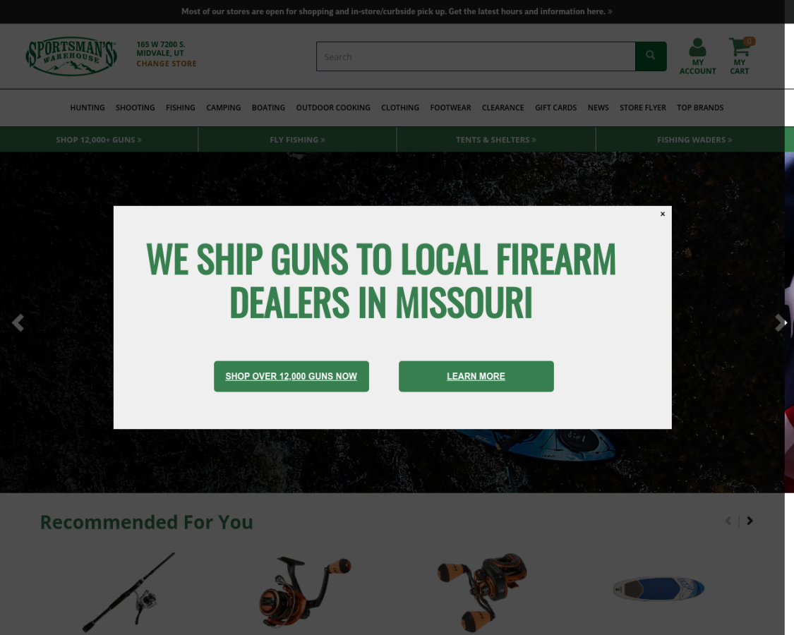 sportsmans coupon codes