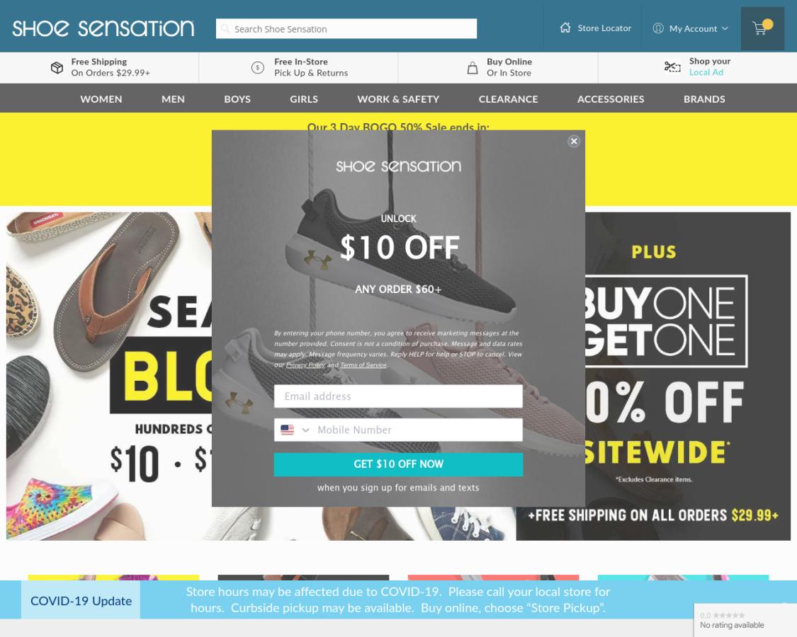 shoesensation coupon codes