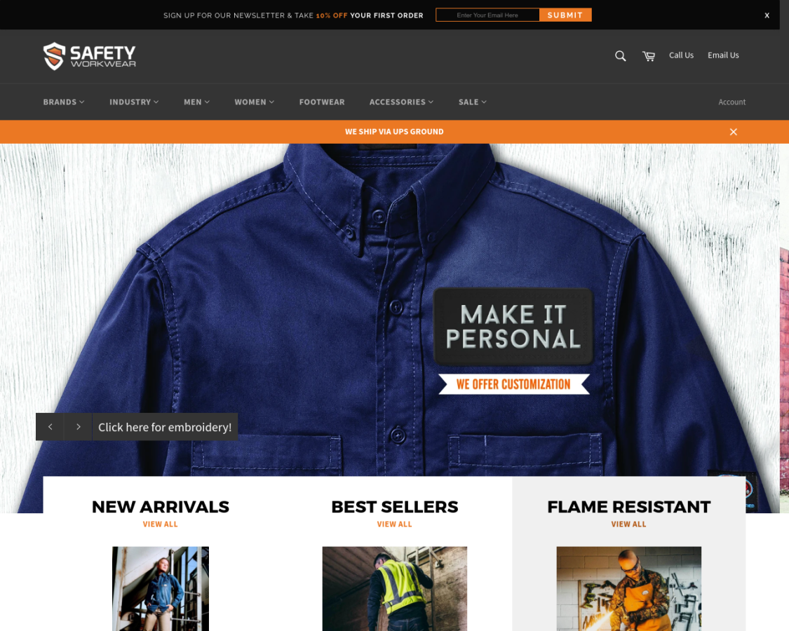 Safety Workwear coupon codes