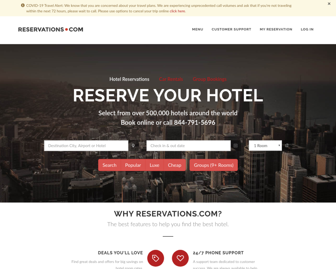 reservations coupon codes