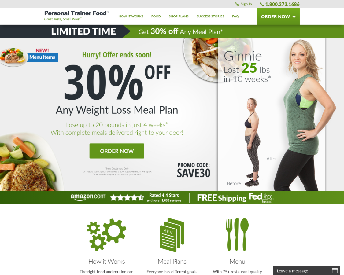 personaltrainerfood coupon codes