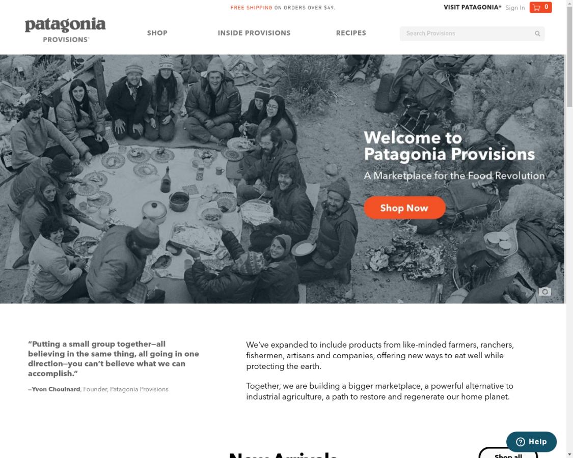 patagoniaprovisions coupon codes