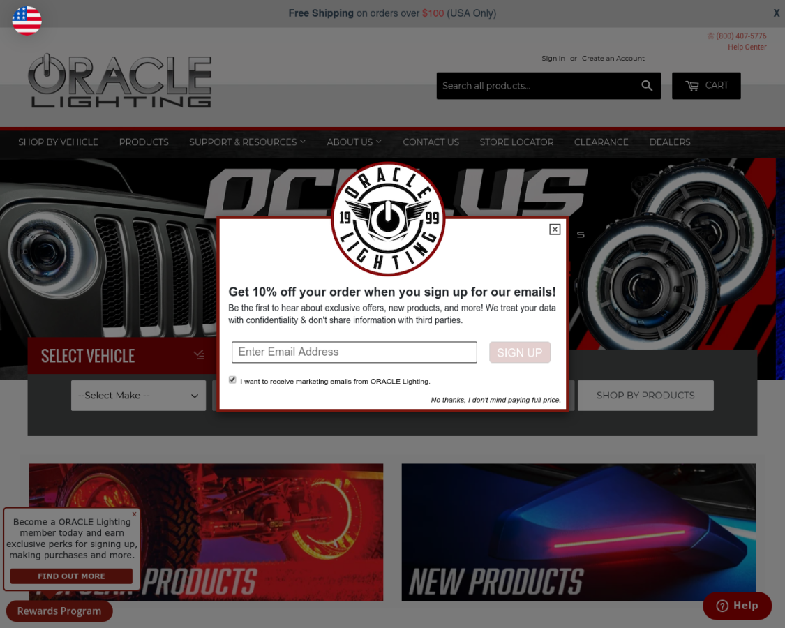oraclelights coupon codes