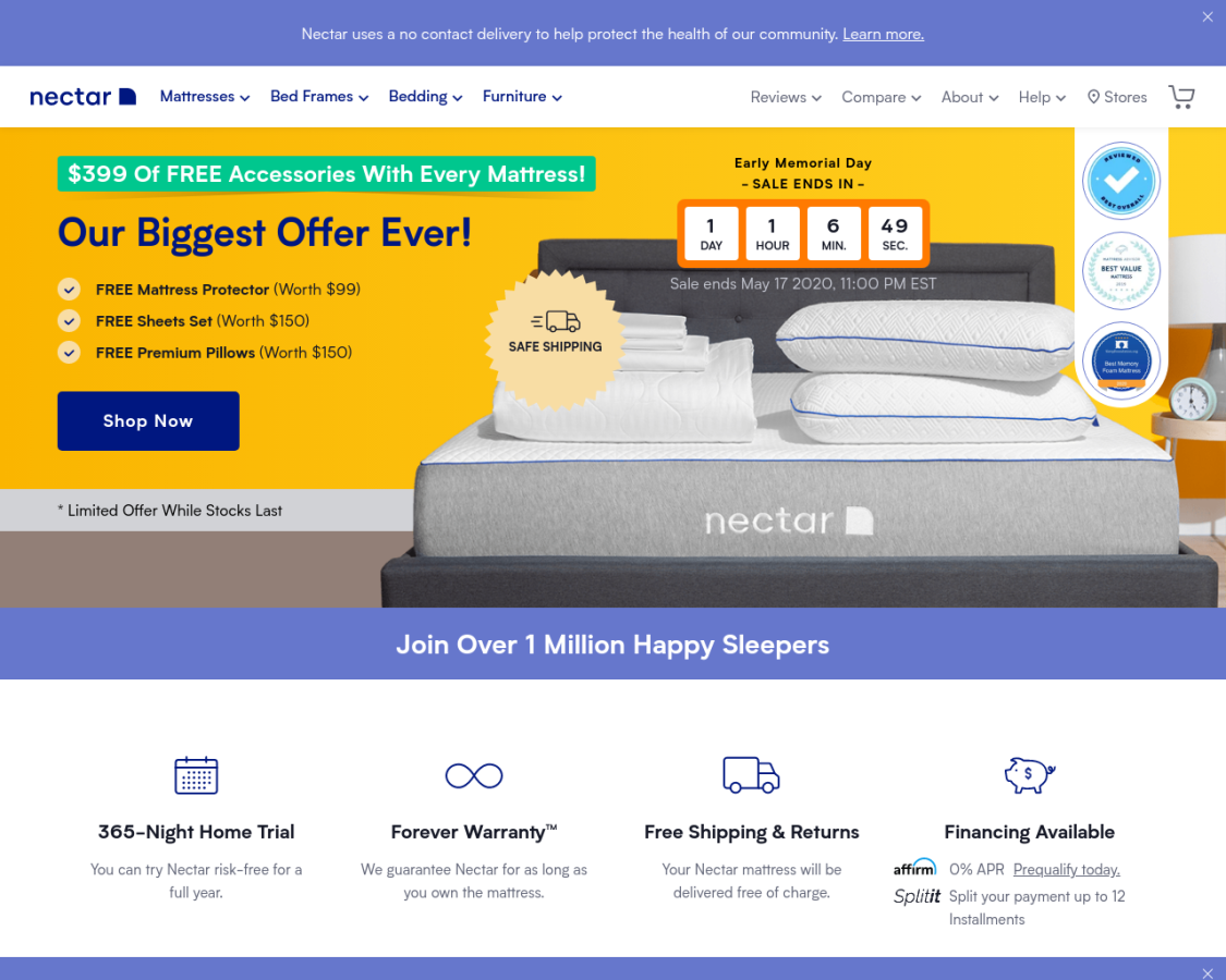 nectarsleep coupon codes