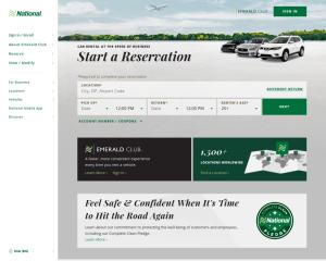 National Car Rental coupon codes