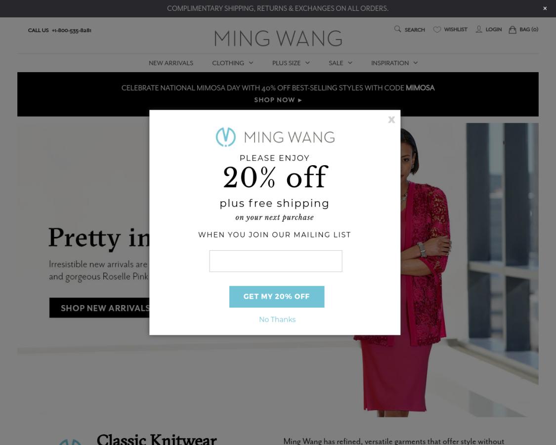 mingwangknits coupon codes