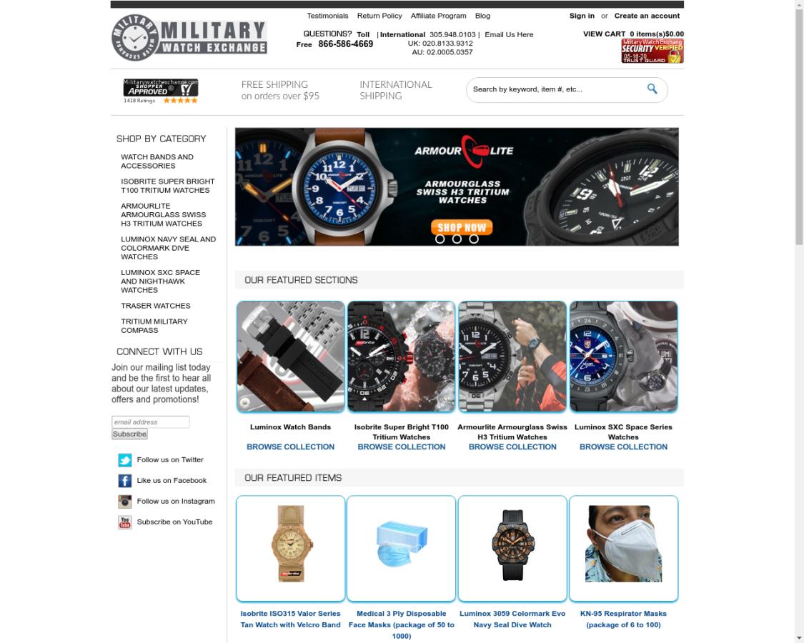 militarywatchexchange coupon codes