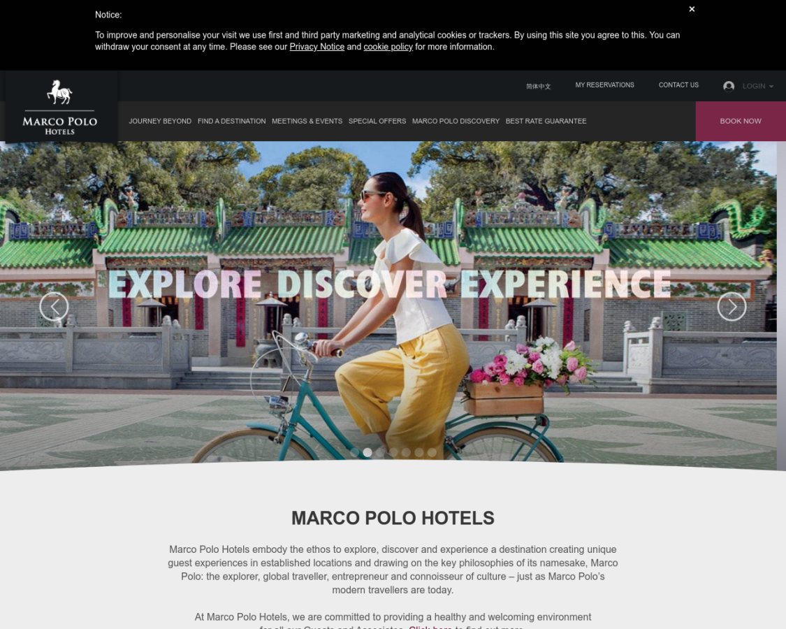 Marco Polo Hotels coupon codes