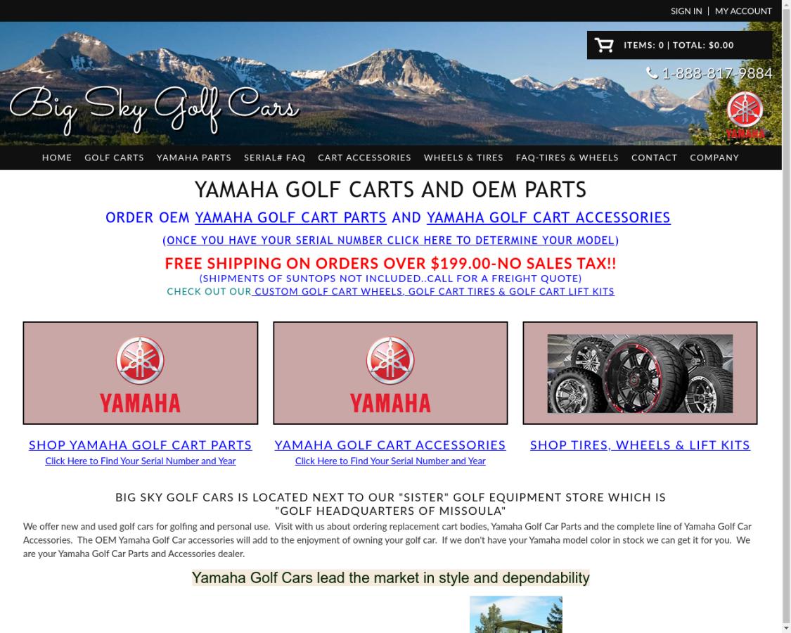 bigskygolfcars coupon codes