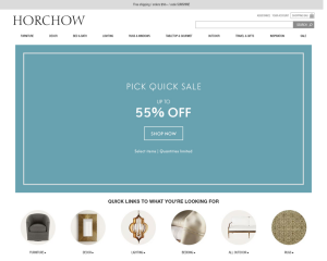 Horchow coupon codes