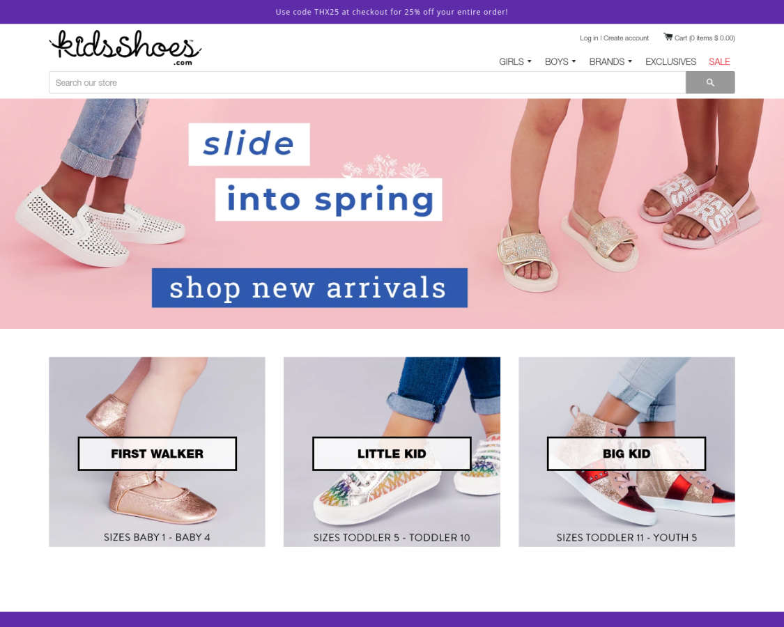 Kids Shoes coupon codes