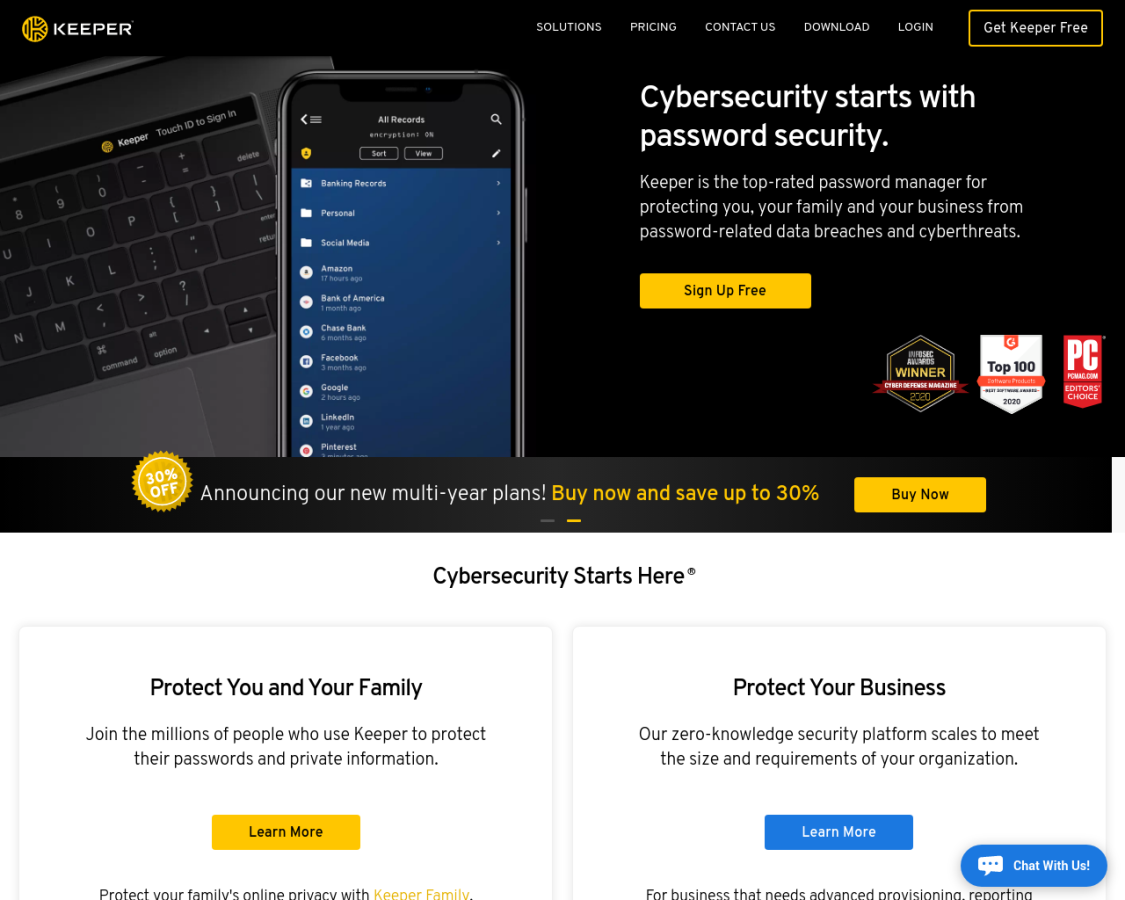 Keeper Security coupon codes