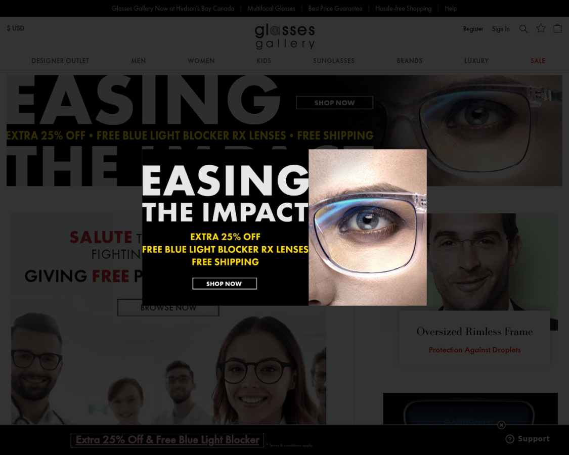 glassesgallery coupon codes