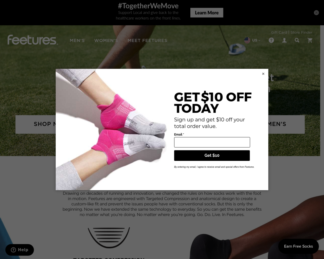 feetures coupon codes