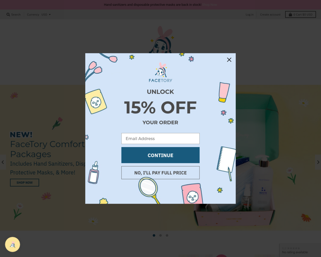 facetory coupon codes