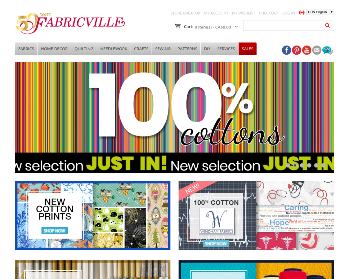 Fabricville coupon codes