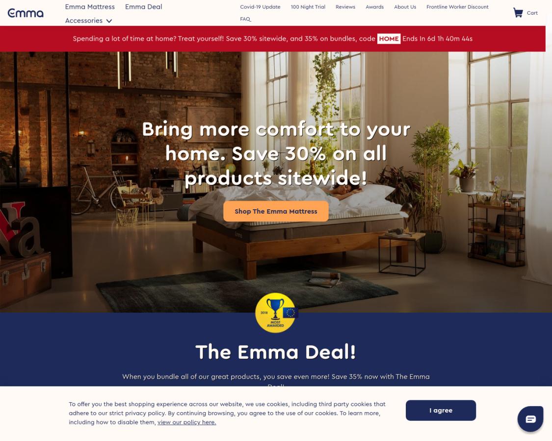 emma-mattress coupon codes