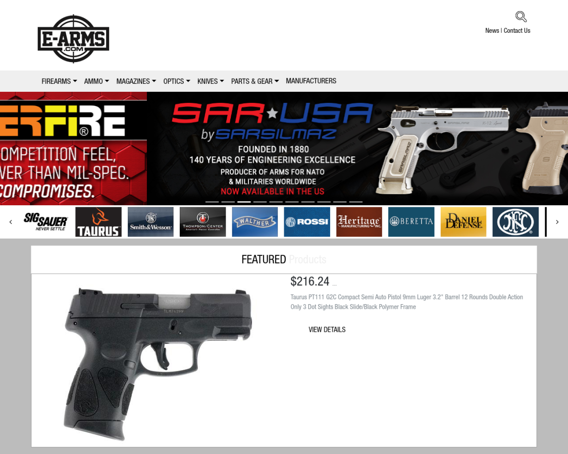 e-arms coupon codes
