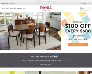 daniafurniture coupon codes