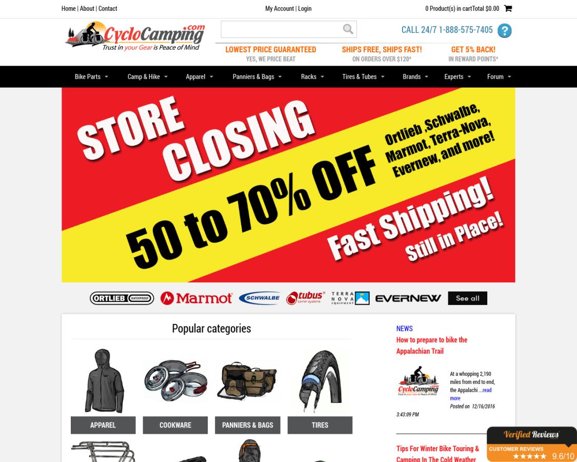cyclocamping coupon codes