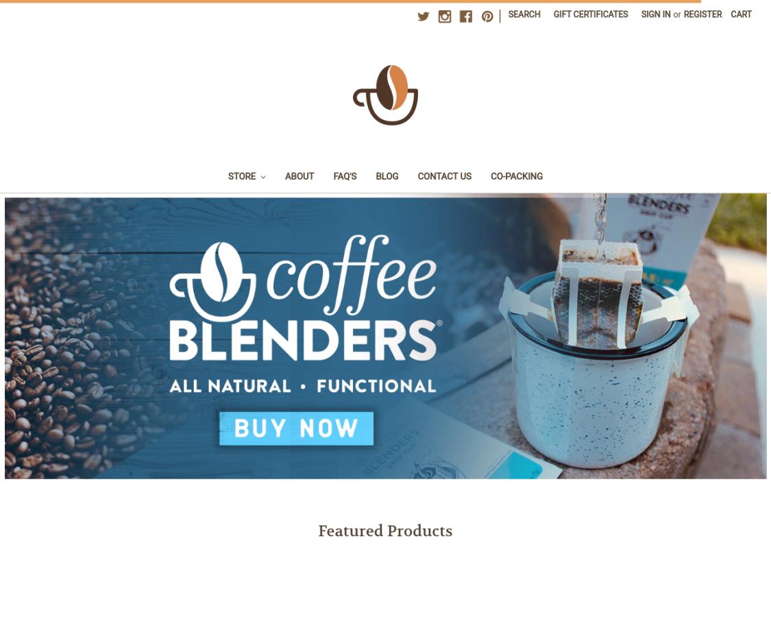 coffeeblenders coupon codes