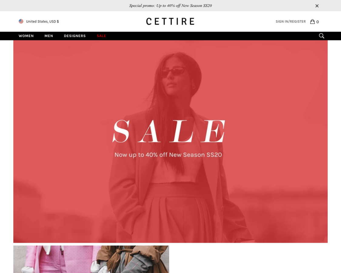 Cettire coupon codes