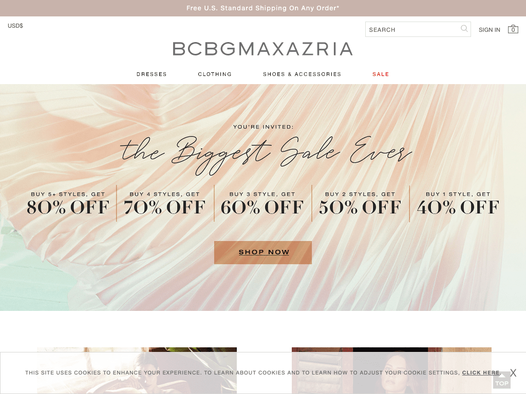 Bcbg Max Azria Group, LLC coupon codes