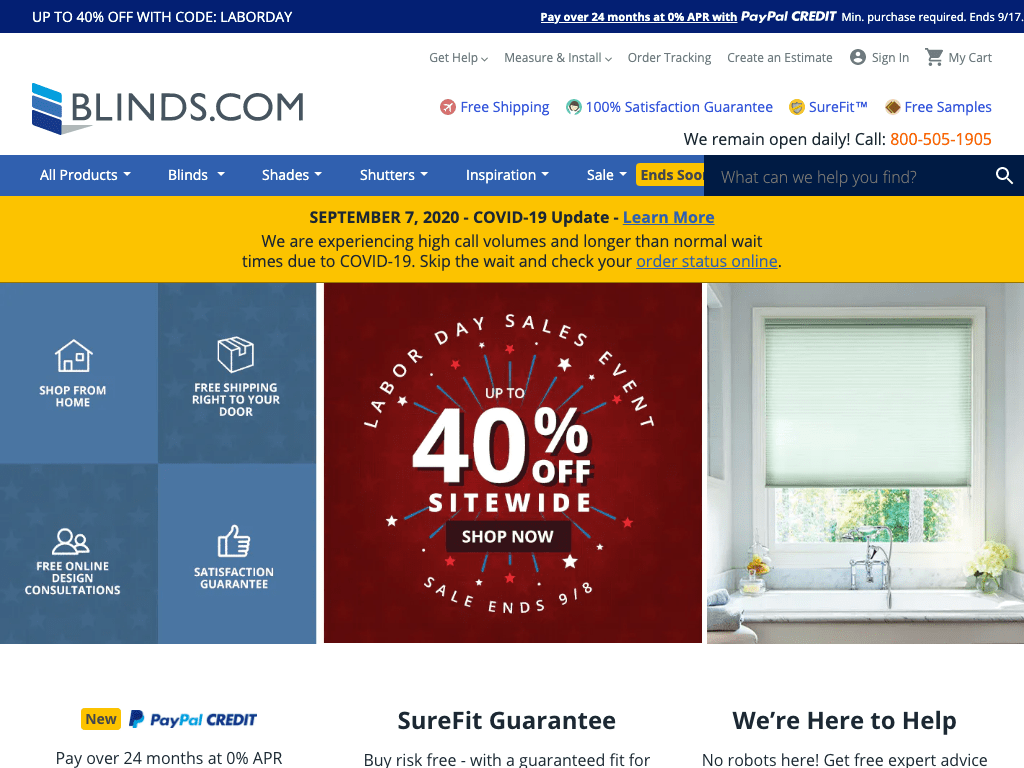 Blinds.ca coupon codes
