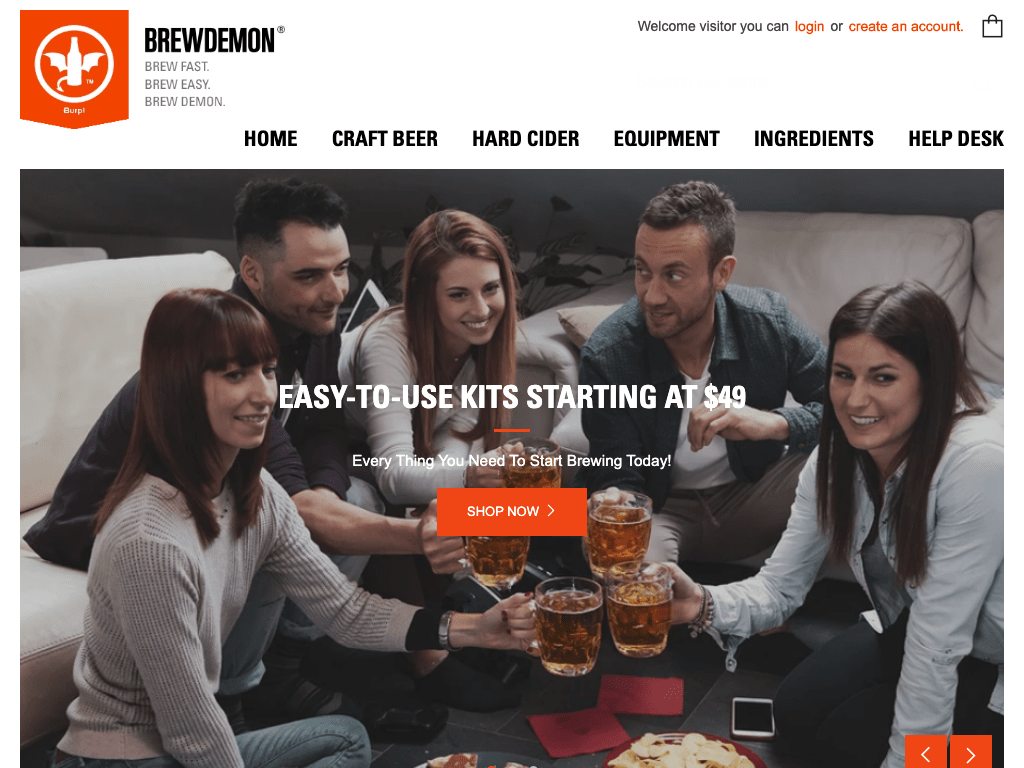 BrewDemon.com coupon codes