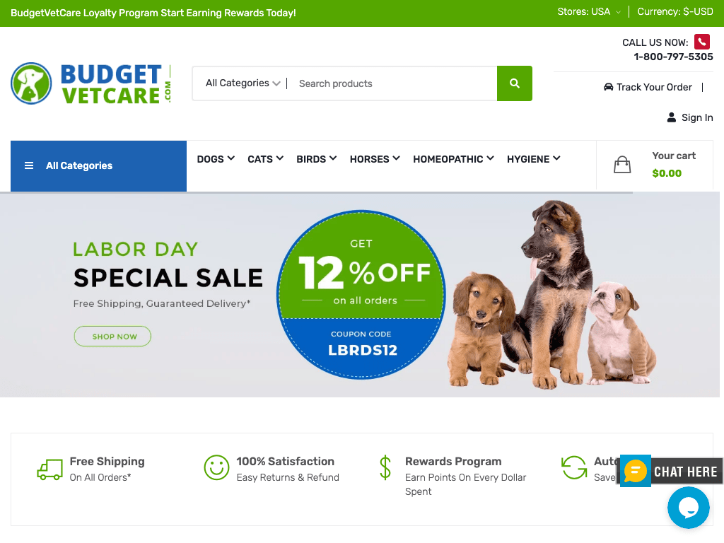 Budget Vet Care coupon codes