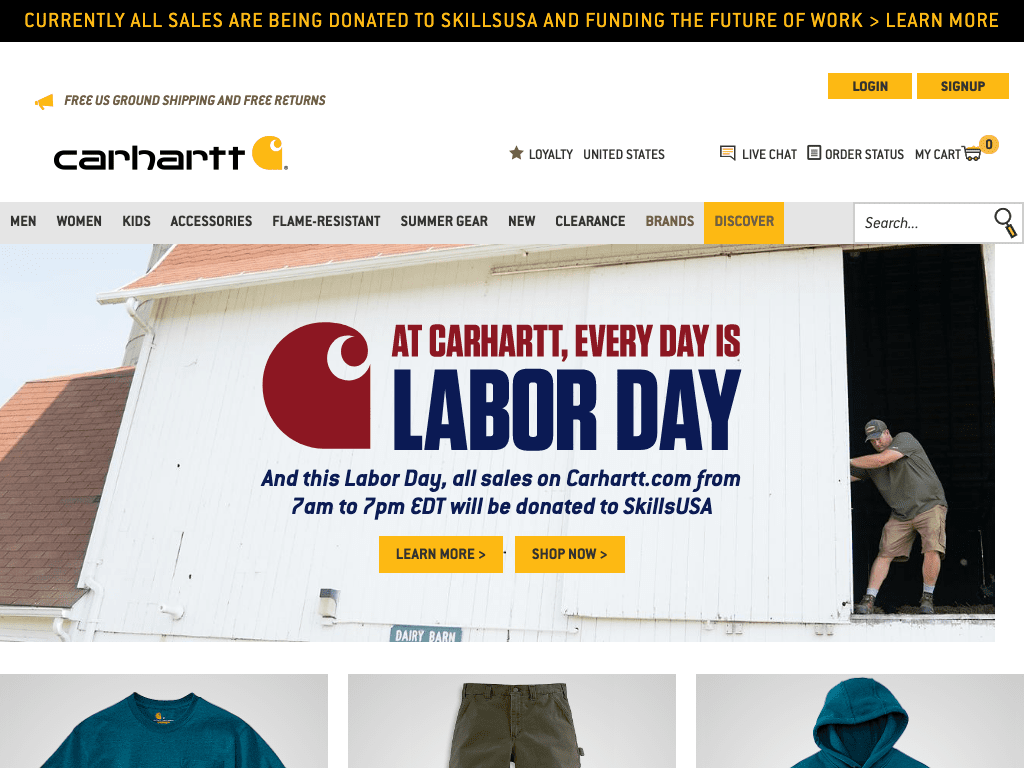 Carhartt coupon codes