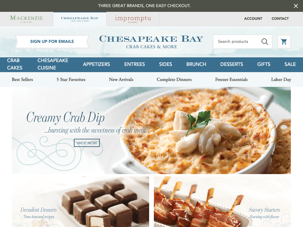 Chesapeake Fine Foods coupon codes