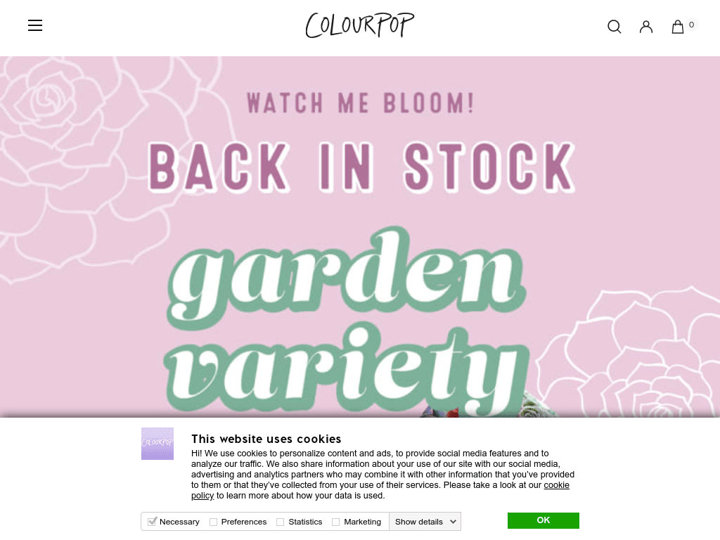 ColourPop coupon codes