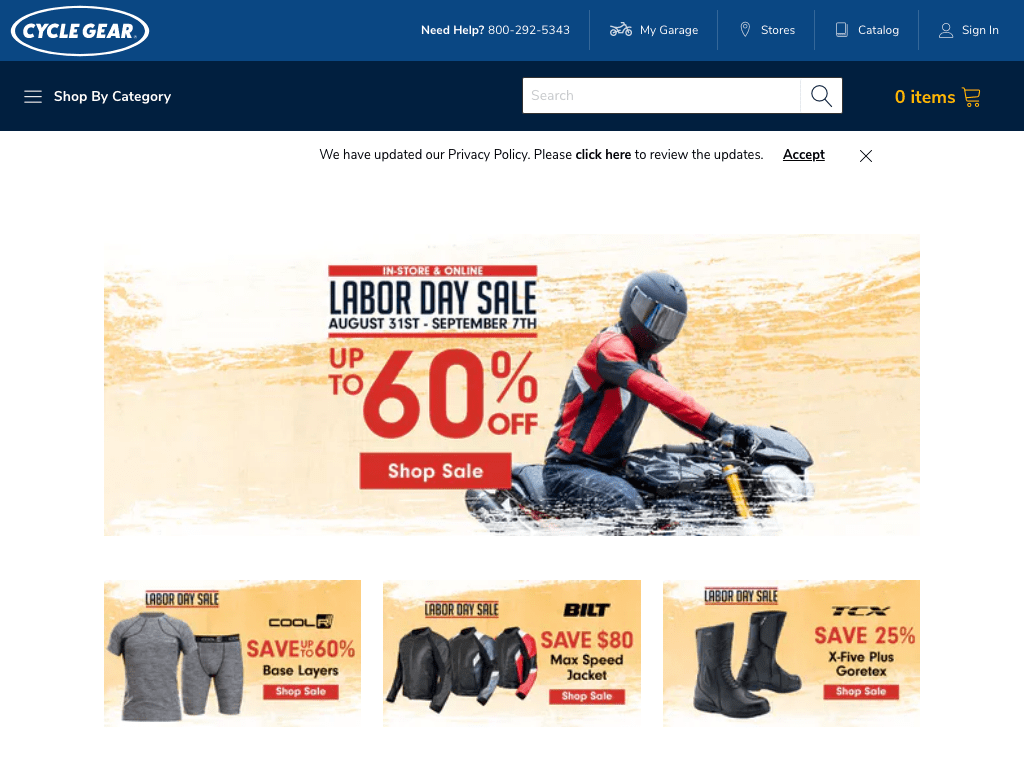 Cycle Gear Direct coupon codes