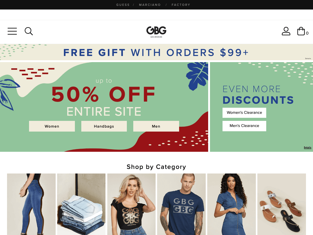 G By Guess coupon codes