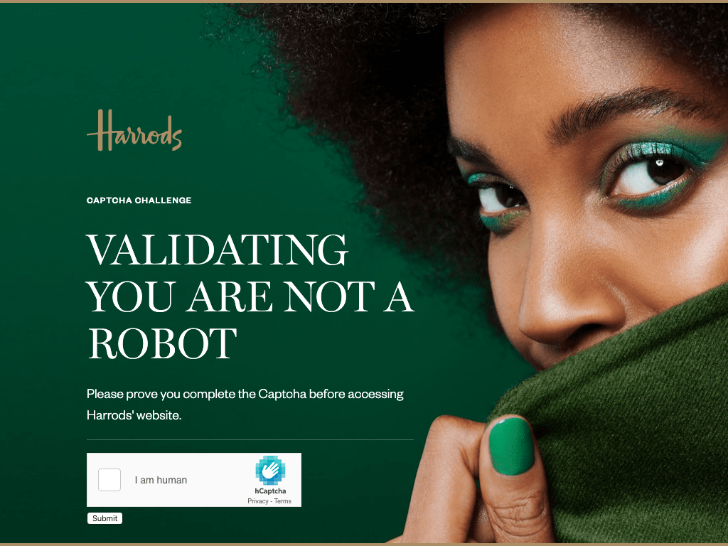 Harrods coupon codes