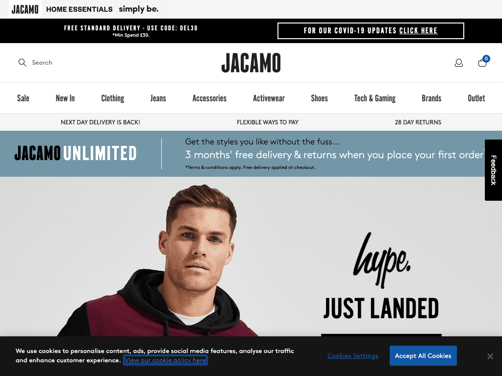 Jacamo coupon codes