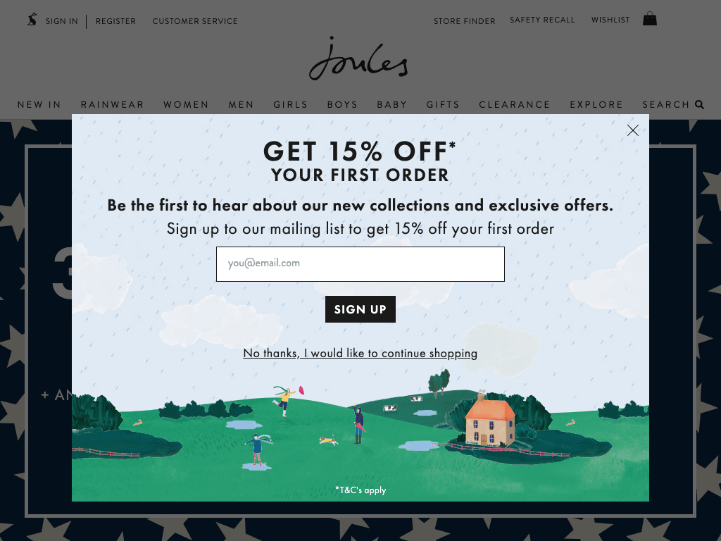 Joules coupon codes