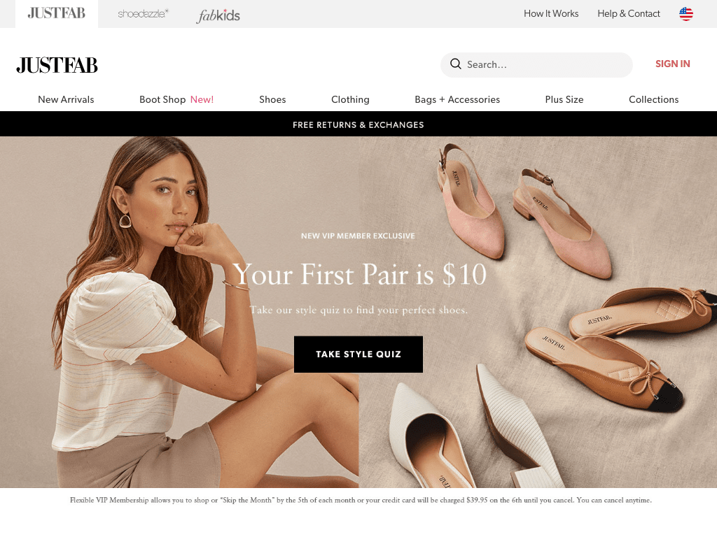 JustFab coupon codes