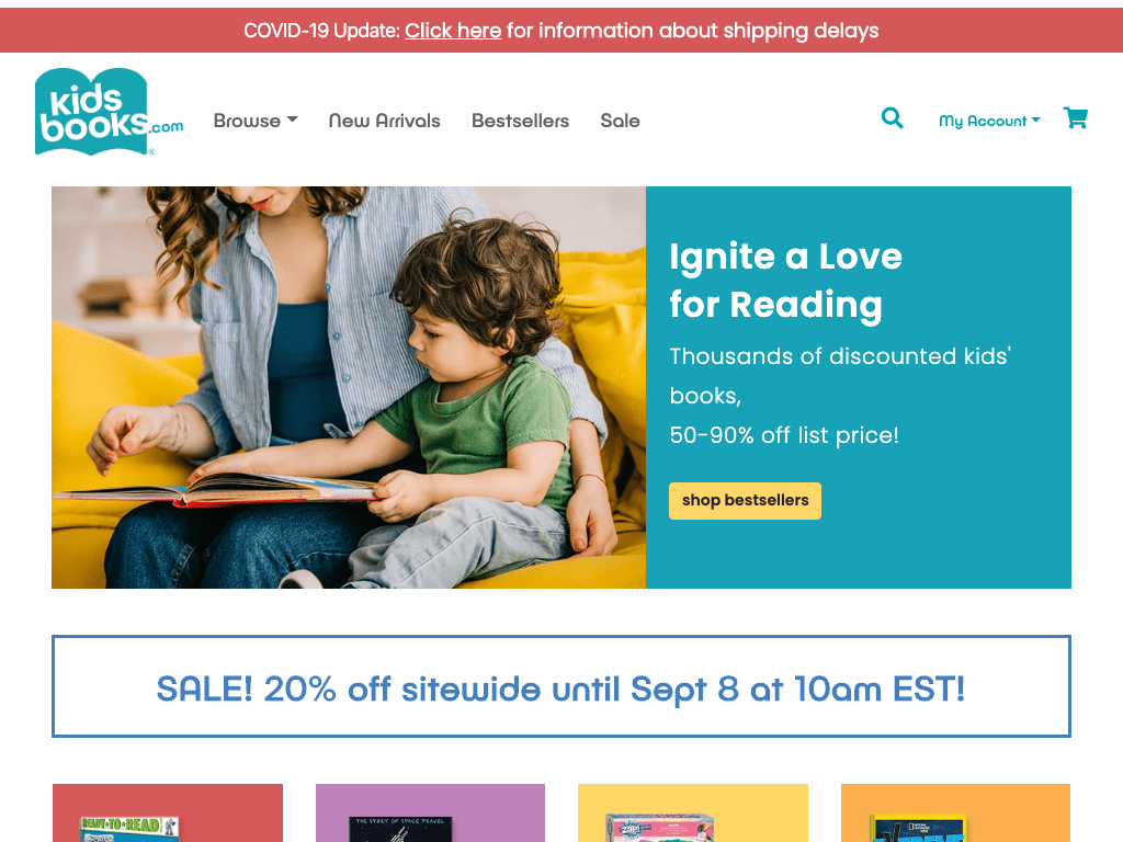 Kidsbooks.com (US) coupon codes