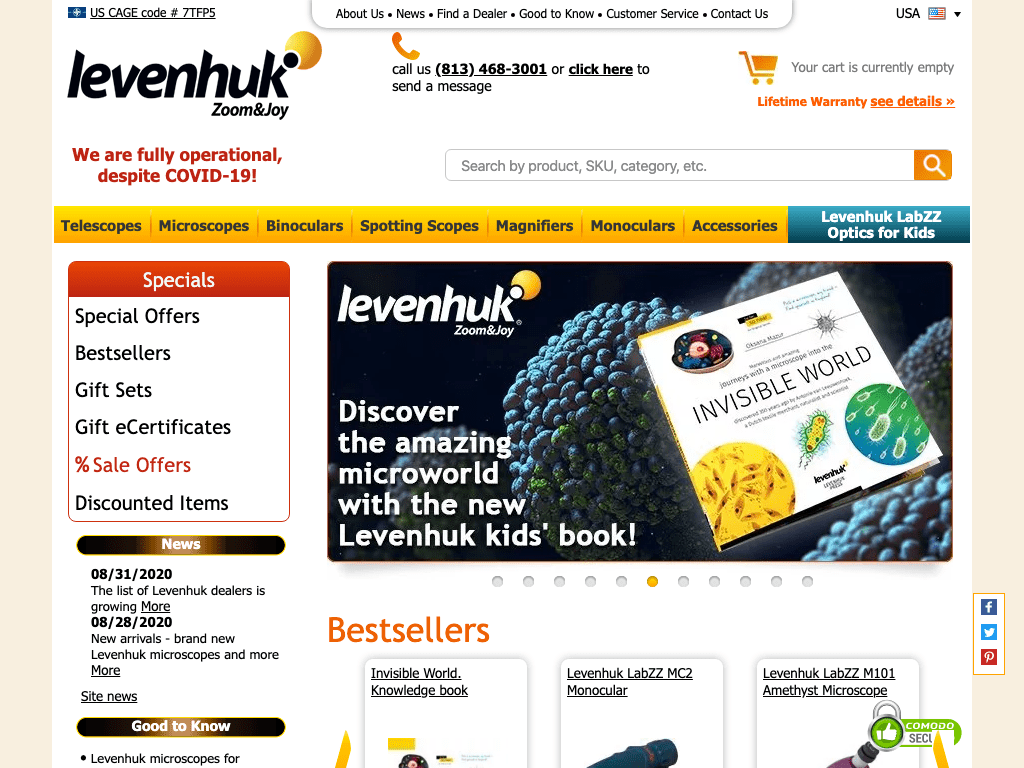 levenhuk coupon codes